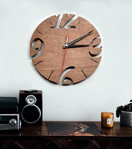 Hardwood Clock