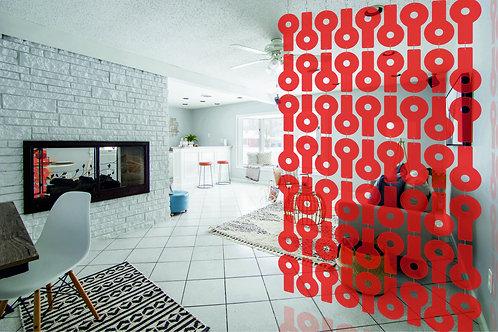 Room Divider - Red KEY