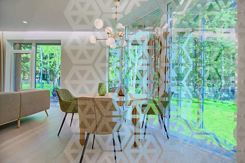 Room Divider - Clear HEX