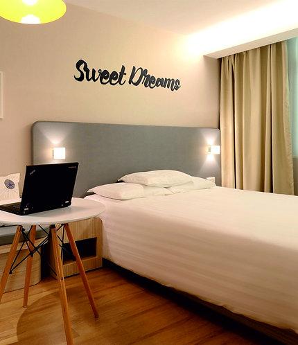 Acrylic Lettering - Bedroom