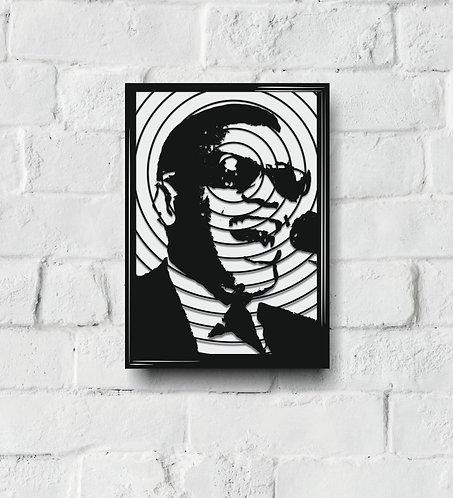 POP ART Music Icon stencil M-R