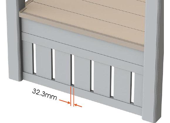 Vertical Skirting (ppm)
