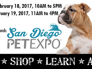 Meet me at the 2017 San Diego Pet Expo