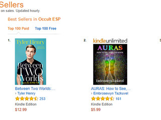 A good day on Amazon: Ranked #3