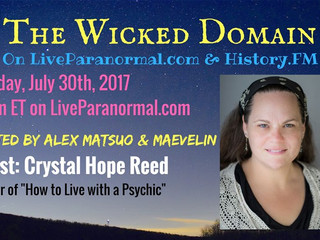 Listen to my archived interview on Wicked Domain radio!