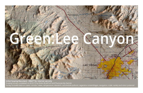 Green: Lee Canyon