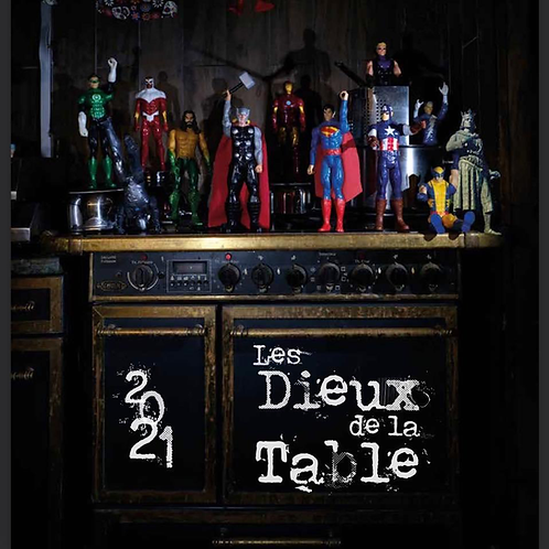 """Calendrier """"Les Dieux de la table"""""""