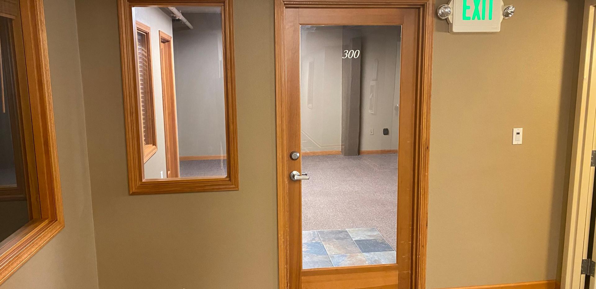 300 Hall Entrance