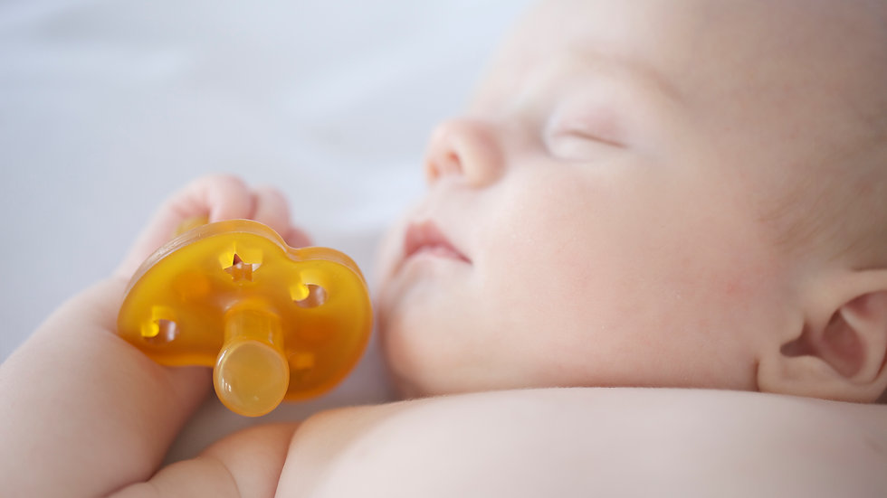 Hevea Natural Rubber Pacifier - Symetrical Teat