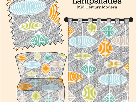Lampshades - Mid Century Modern
