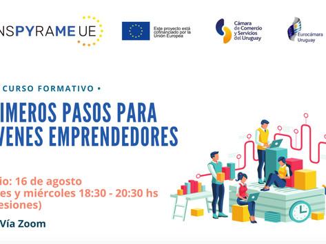 Curso: Primeros pasos para jóvenes emprendedores