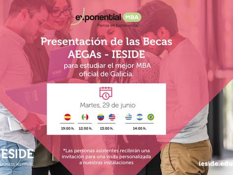 Presentación de las Becas AEGAs - IESIDE