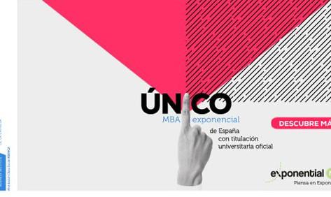 Exponential MBA, único MBA Exponencial de España con titulación universitaria oficial