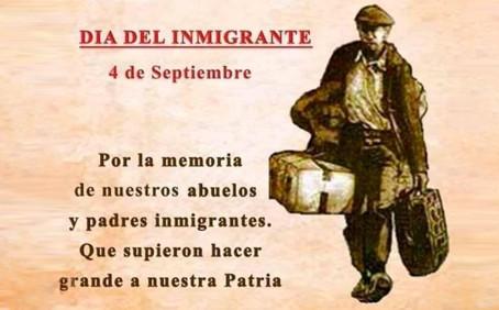 Día del Inmigrante - 4 Septiembre