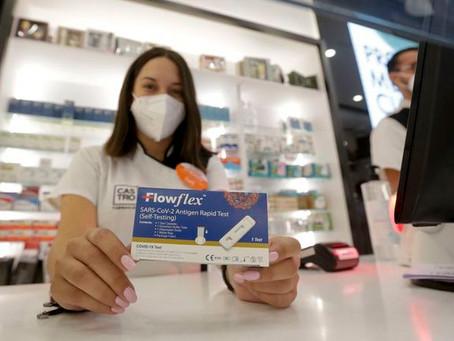 Los test de antígenos de las farmacias gallegas servirán para ir a bares y pubs