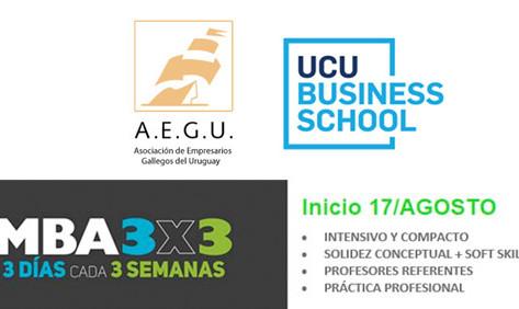 Inicios de UCU Business School con beneficios especiales para los socios de AEGU
