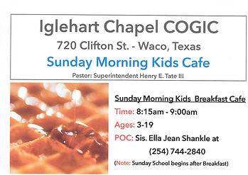 Home | Iglehart Chapel Church of God In Christ