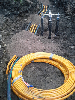 Leitungsbau - Glasfaserkabel