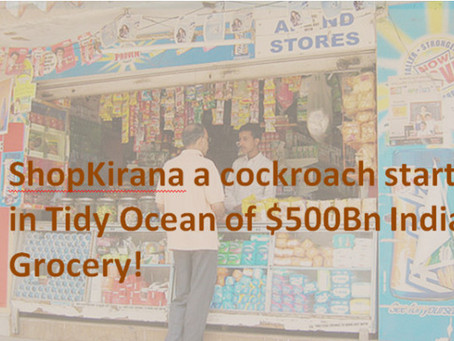 Why ShopKirana promises great opportunity and not just another Grocery Start-up!!