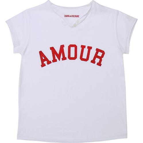 T-shirt amour ZADIG ET VOLTAIRE