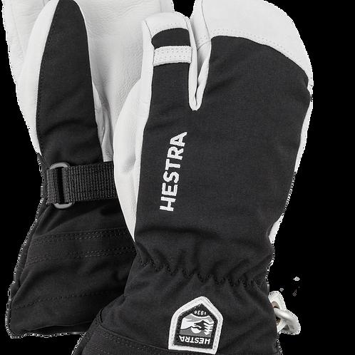 Army leather Heli ski 3 doigts HESTRA