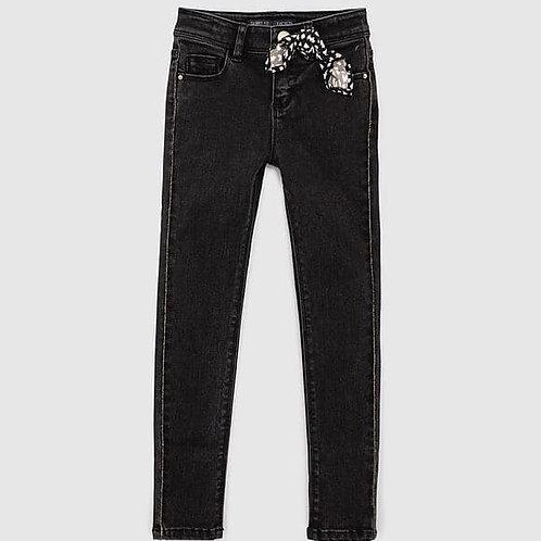 Jeans skinny avec foulard IKKS