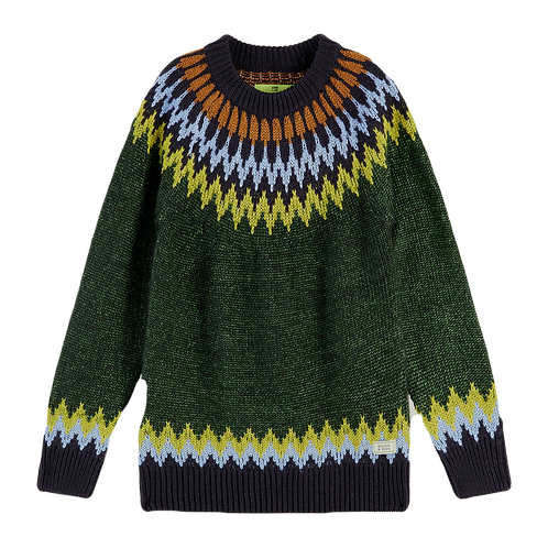 Pull tricot jacquard SCOTCH AND SODA