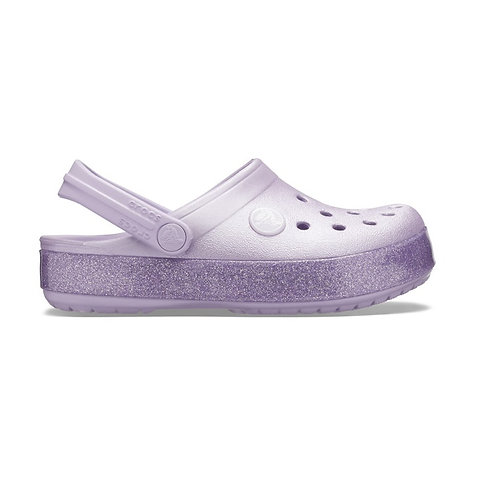 Crocs kids crocband glitter clog