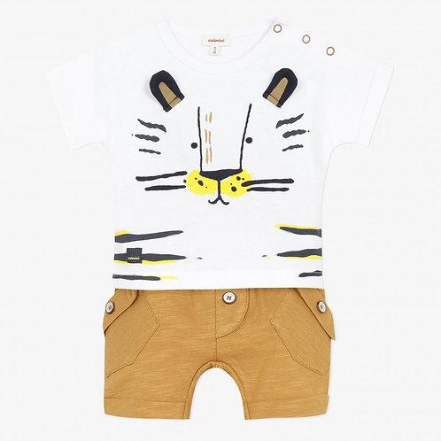 T-shirt et short jersey CATIMINI