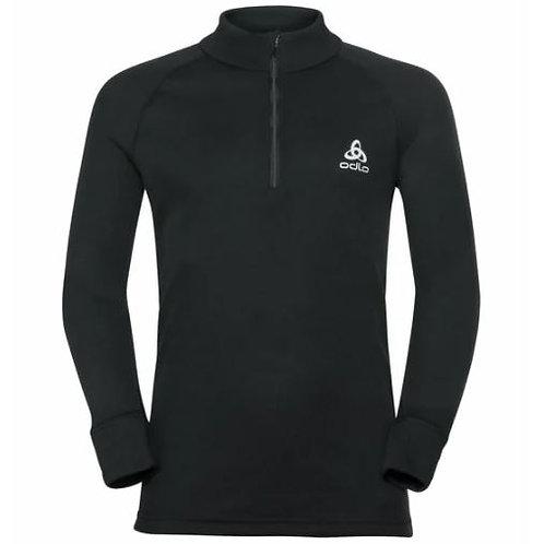Warm t-shirt long zip technique ODLO