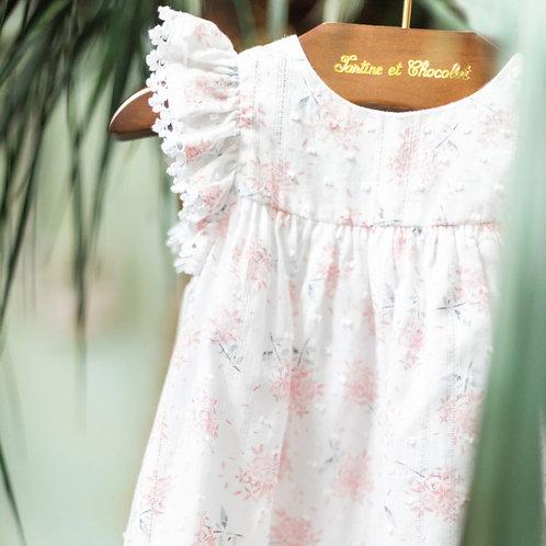 Robe chasuble hortensia TARTINE ET CHOCOLAT