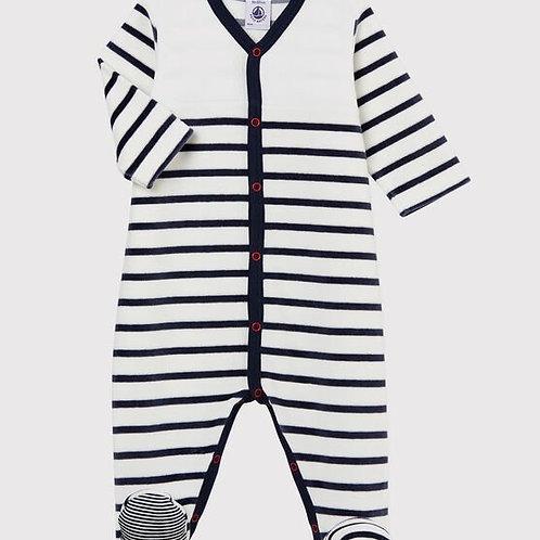 Pyjama velour PETIT BATEAU