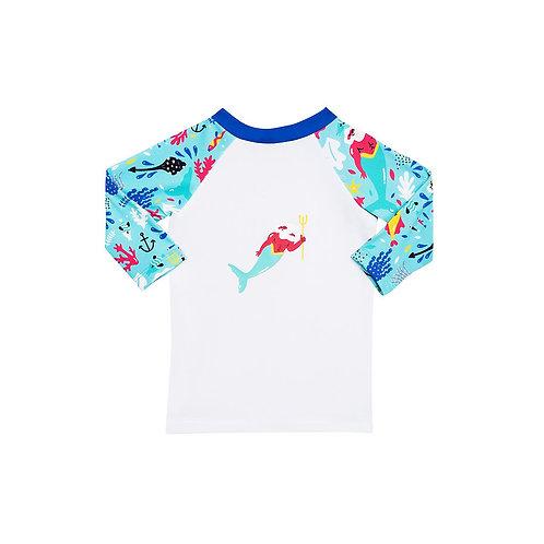 """T-shirt anti UV boy """"poséidon"""" CHIPOTE PAS"""