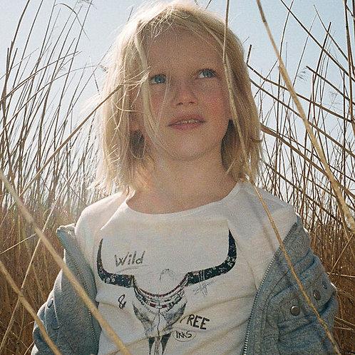 T-shirt ML Wild&Free IKKS