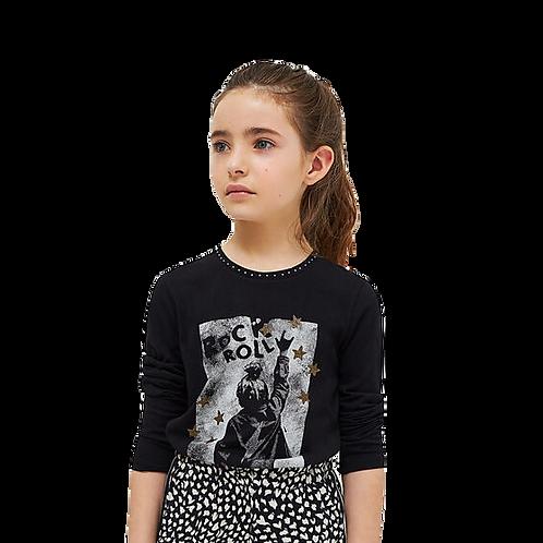 T-shirt ML Rock +Roll IKKS