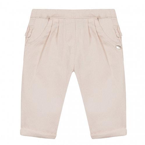Pantalon à rayures et volants TARTINE ET CHOCOLAT