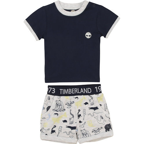 Ensemble t-shirt et short TIMBERLAND