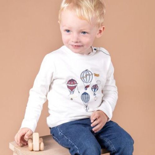 T-shirt ML Petit Inventeur TARTINE ET CHOCOLAT