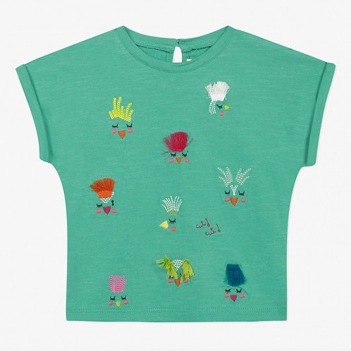 T-shirt à motif 3D CATIMINI