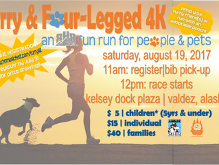 Grab your running shoes & leashes!