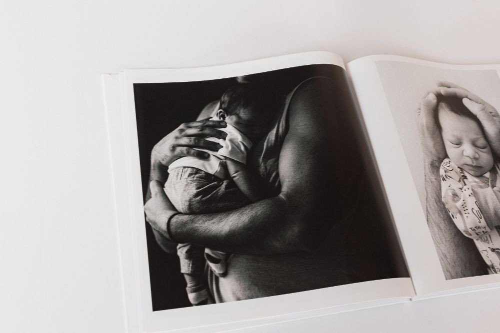 Photo book for father's day