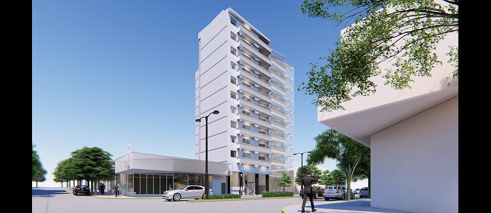 25 De Mayo - Edificio Torreon (en construcción) - 1 Dorm.  U$D50.000