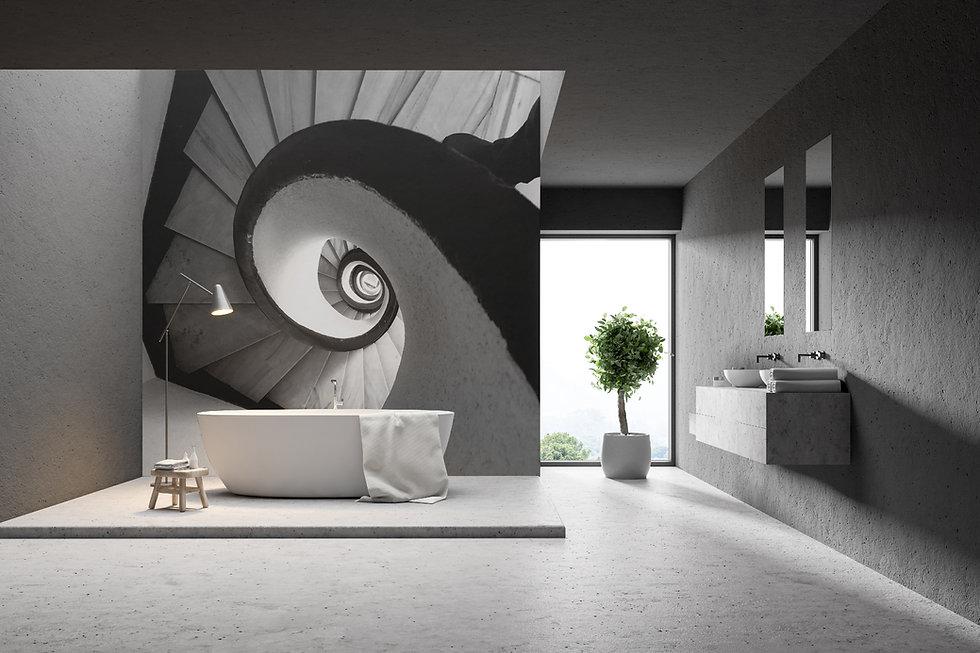 spiral stair +tub+skylite+tree.jpg
