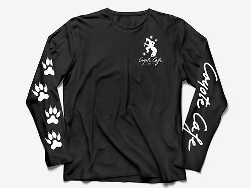 Coyote Cafe Unisex Black Long Sleeved T-Shirt