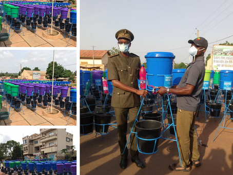 663 Hand Washing Stations Distributed In The Couffo
