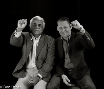 Tariq Ali with Avi Lewis