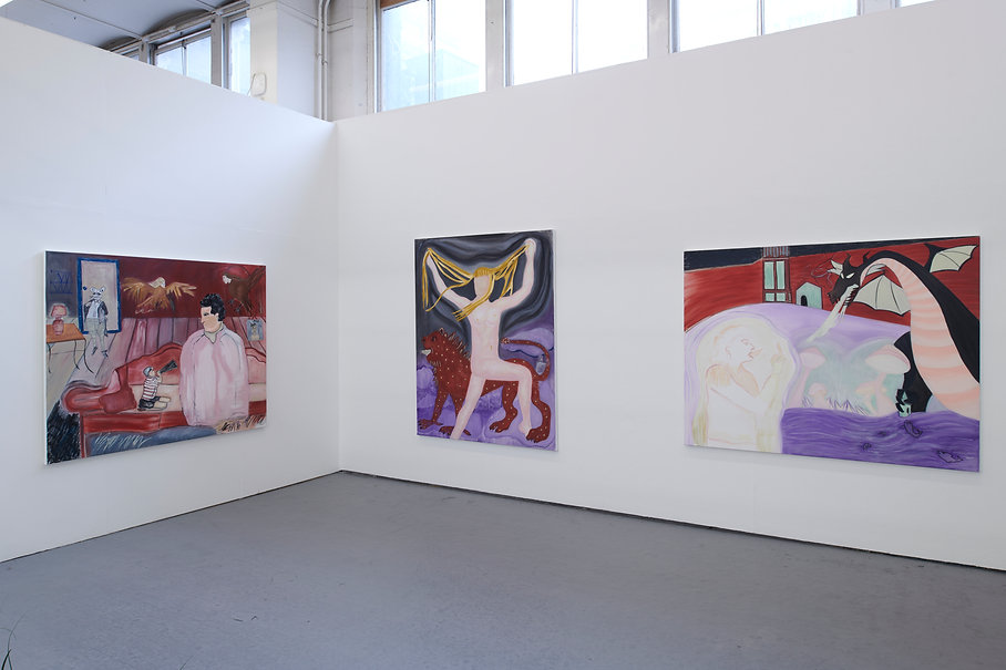 Jazmin Donaldson, Slade Degree Show Install, 2019