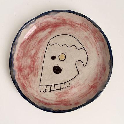 Jazmin Donaldson paintings, ceramics, skull