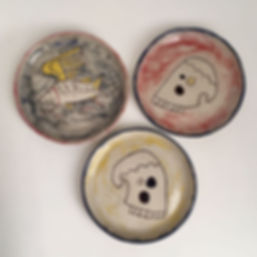Jazmin Donaldson paintings, ceramics