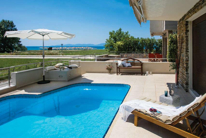 Thalassa Complex, Ofrynio Beach.  Kavala, Greece
